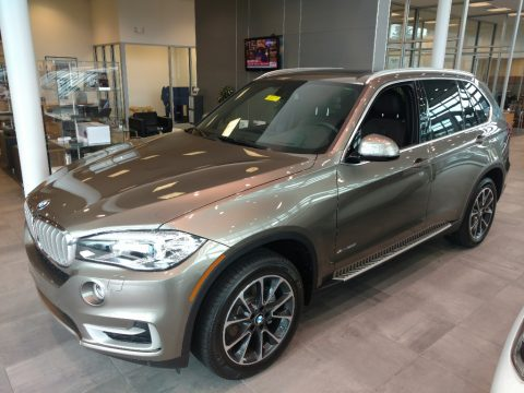 Atlas Cedar Metallic BMW X5 xDrive35i.  Click to enlarge.