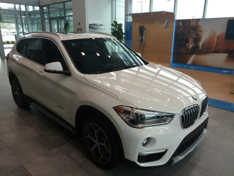 Alpine White BMW X1 xDrive28i.  Click to enlarge.