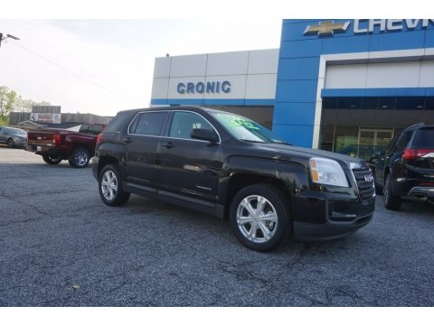 Ebony Twilight Metallic GMC Terrain SLE.  Click to enlarge.
