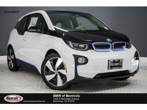 Capparis White BMW i3 with Range Extender.  Click to enlarge.