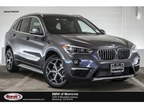 Mineral Grey Metallic BMW X1 sDrive28i.  Click to enlarge.