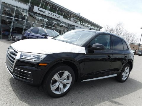 Brilliant Black Audi Q5 2.0 TFSI Premium quattro.  Click to enlarge.