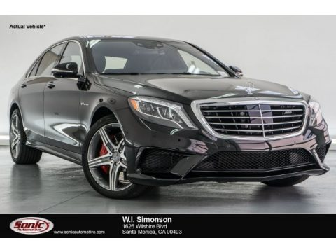 Obsidian Black Metallic Mercedes-Benz S 63 AMG 4Matic Coupe.  Click to enlarge.
