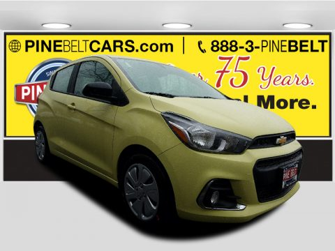 Brimstone Chevrolet Spark LS.  Click to enlarge.