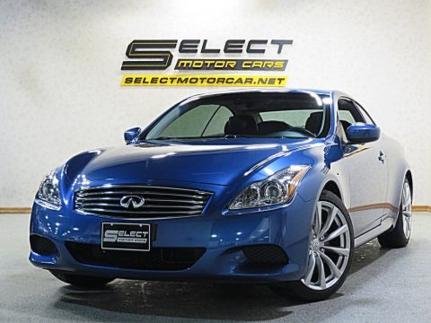 Athens Blue Infiniti G 37 S Sport Convertible.  Click to enlarge.