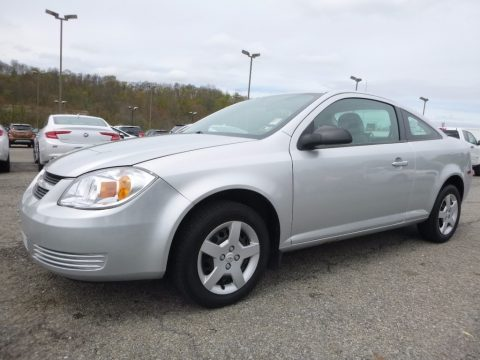 Ultra Silver Metallic Chevrolet Cobalt LS Coupe.  Click to enlarge.