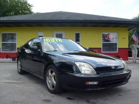 Flamenco Black Pearl 1998 Honda Prelude with Black interior Flamenco Black