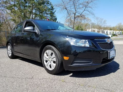 Black Granite Metallic Chevrolet Cruze LS.  Click to enlarge.
