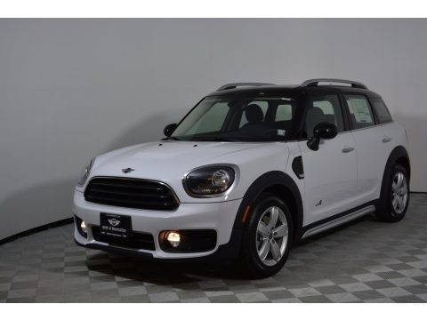 Light White Mini Countryman Cooper.  Click to enlarge.