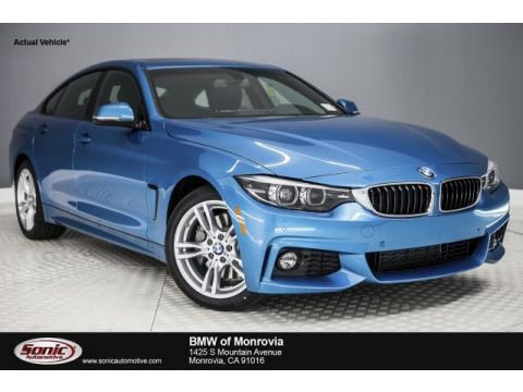 Snapper Rocks Blue Metallic BMW 4 Series 430i Gran Coupe.  Click to enlarge.
