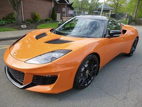 Metallic Orange Lotus Evora 400.  Click to enlarge.