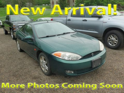 Tropic Green Metallic Mercury Cougar V6.  Click to enlarge.