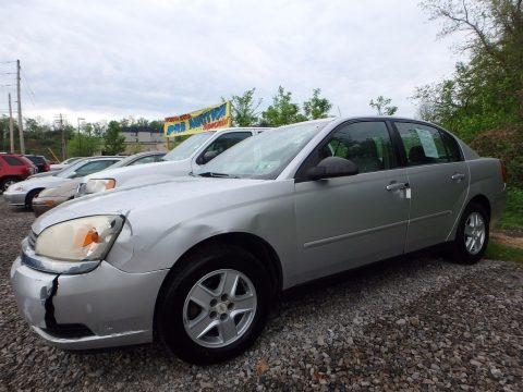 Galaxy Silver Metallic Chevrolet Malibu LS V6 Sedan.  Click to enlarge.