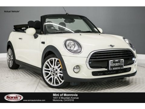 Pepper White Mini Convertible Cooper.  Click to enlarge.