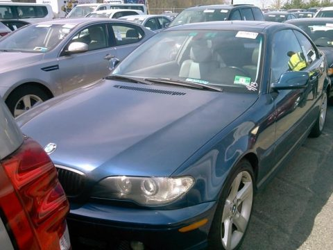 Orient Blue Metallic BMW 3 Series 325i Coupe.  Click to enlarge.