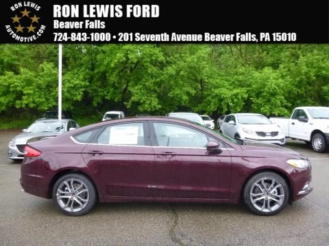 Burgundy Velvet Ford Fusion SE.  Click to enlarge.