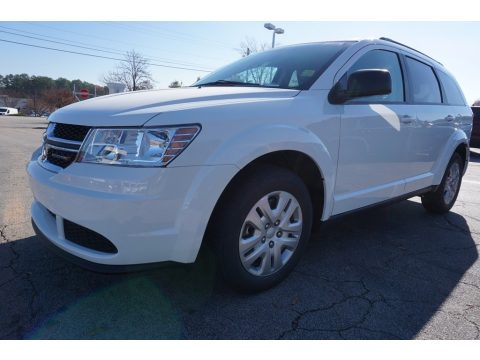 Vice White Dodge Journey SE.  Click to enlarge.