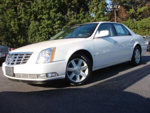 Glacier White 2006 Cadillac