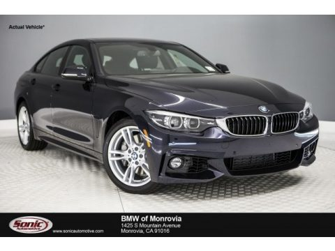 Carbon Black Metallic BMW 4 Series 440i Gran Coupe.  Click to enlarge.
