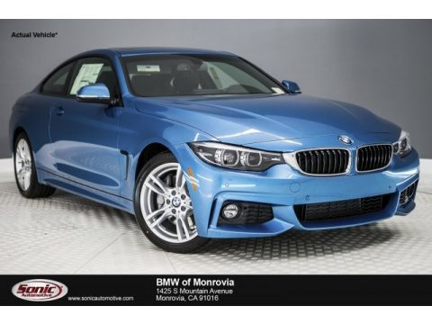 Snapper Rocks Blue Metallic BMW 4 Series 430i Coupe.  Click to enlarge.