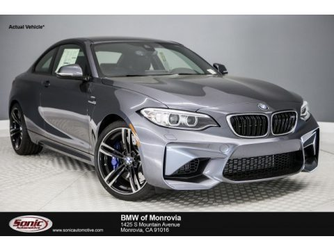 Mineral Grey Metallic BMW M2 Coupe.  Click to enlarge.