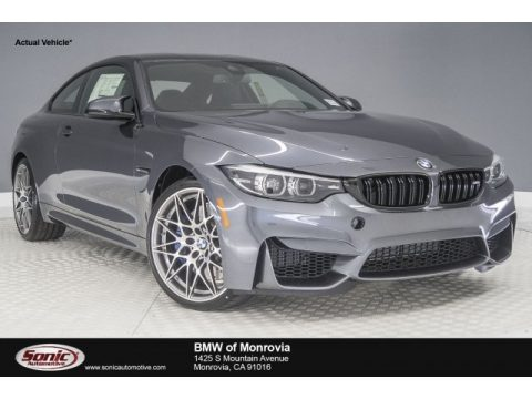 Mineral Grey Metallic BMW M4 Coupe.  Click to enlarge.