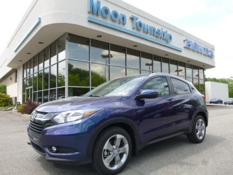Deep Ocean Pearl Honda HR-V EX-L AWD.  Click to enlarge.