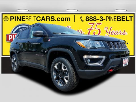 Black Jeep Compass Trailhawk 4x4.  Click to enlarge.