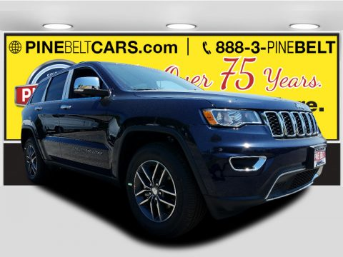 True Blue Pearl Jeep Grand Cherokee Limited 4x4.  Click to enlarge.