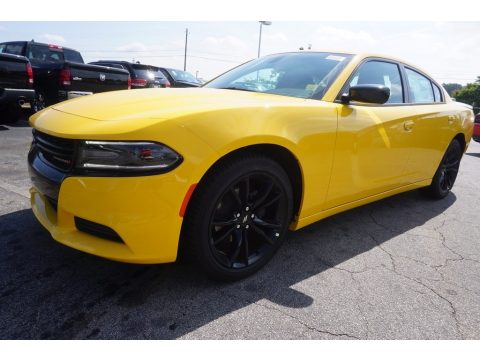 Yellow Jacket Dodge Charger SE.  Click to enlarge.