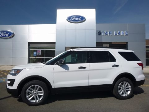 Oxford White Ford Explorer 4WD.  Click to enlarge.