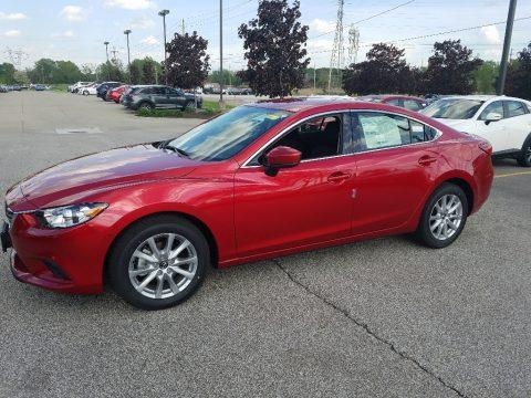 Soul Red Metallic Mazda Mazda6 Sport.  Click to enlarge.