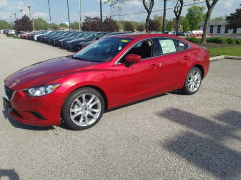 Soul Red Metallic Mazda Mazda6 Touring.  Click to enlarge.