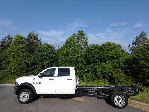 Bright White Ram 4500 Tradesman Crew Cab Chassis.  Click to enlarge.