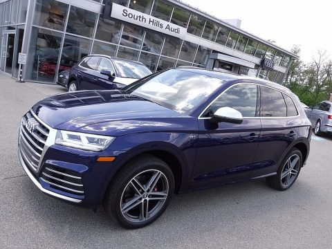 Navarra Blue Metallic Audi SQ5 3.0 TFSI Premium Plus.  Click to enlarge.