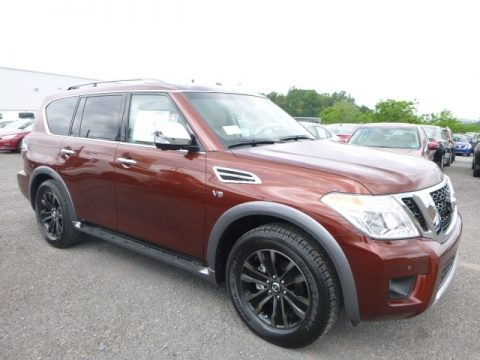 Forged Copper Nissan Armada Platinum 4x4.  Click to enlarge.