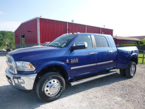 Ram 3500 Laramie Mega Cab 4x4 Dual Rear Wheel