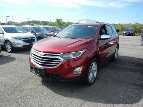 Cajun Red Tintcoat Chevrolet Equinox Premier.  Click to enlarge.
