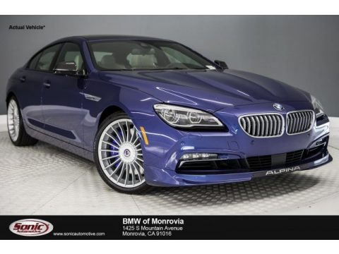 ALPINA Blue Metallic BMW 6 Series ALPINA B6 xDrive Gran Coupe.  Click to enlarge.