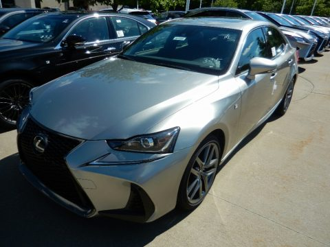 Atomic Silver Lexus IS 350 F Sport AWD.  Click to enlarge.