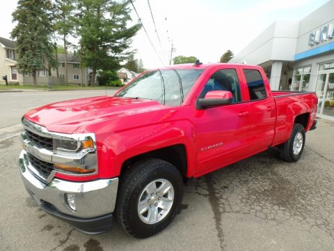 Red Hot Chevrolet Silverado 1500 LT Double Cab 4x4.  Click to enlarge.