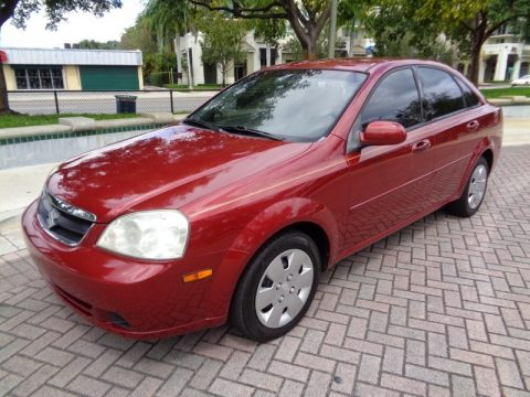 Fusion Red Metallic Suzuki Forenza .  Click to enlarge.