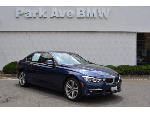 Imperial Blue Metallic BMW 3 Series 330i xDrive Sedan.  Click to enlarge.