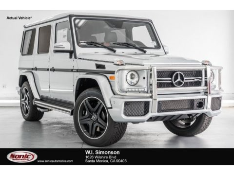 Iridium Silver Metallic Mercedes-Benz G 63 AMG.  Click to enlarge.