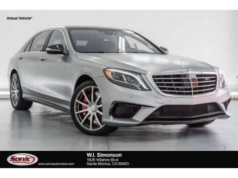 designo Alanite Grey Magno (Matte) Mercedes-Benz S 63 AMG 4Matic Sedan.  Click to enlarge.