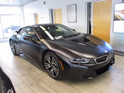 Protonic Frozen Black BMW i8 .  Click to enlarge.