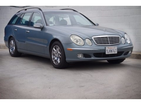 Granite Grey Metallic Mercedes-Benz E 320 Wagon.  Click to enlarge.