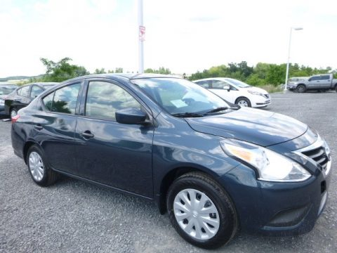 Graphite Blue Nissan Versa S.  Click to enlarge.
