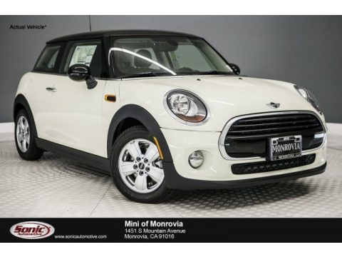 Pepper White Mini Hardtop Cooper 2 Door.  Click to enlarge.