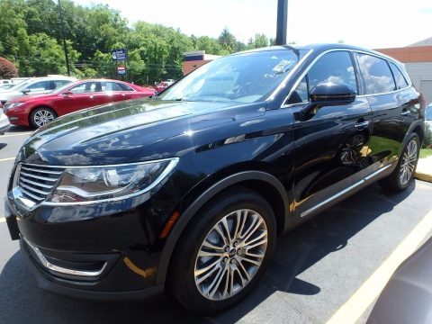 Black Velvet Lincoln MKX Reserve AWD.  Click to enlarge.